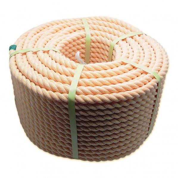 三友産業 PVカラーロープ 太さ:16mm長さ:100m HR-544 1個
