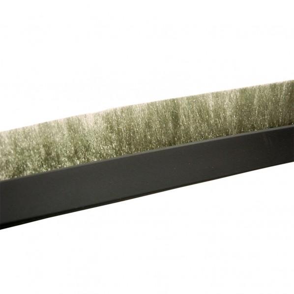 槌屋 海外 隙間ブラシシール 長巻 ベース幅:10mmブラシ長さ:10mm長さ:30m SB200GY-30R 出色 グレー 1個