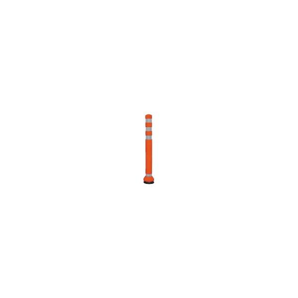 サンバリカー リサイクルボラード ラバーコーン オレンジ Φ80 H80 RC-80(R) 1個