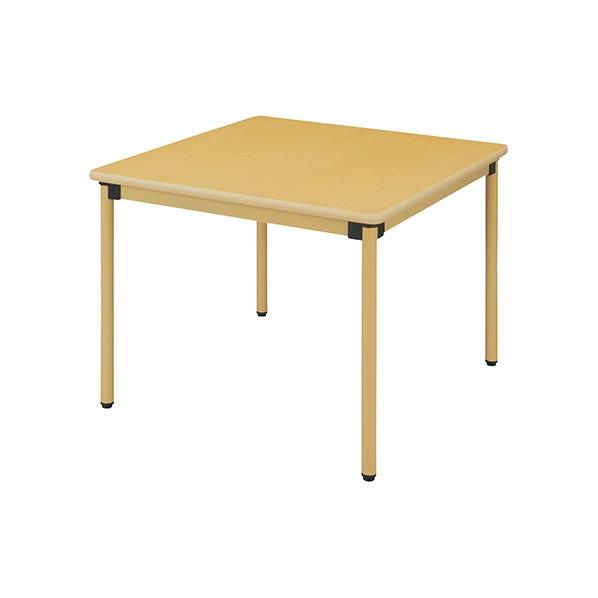 ハイテクウッド 4本脚テーブル メープル (UFT-ST9090)  文具・OA機器 文具・事務用品