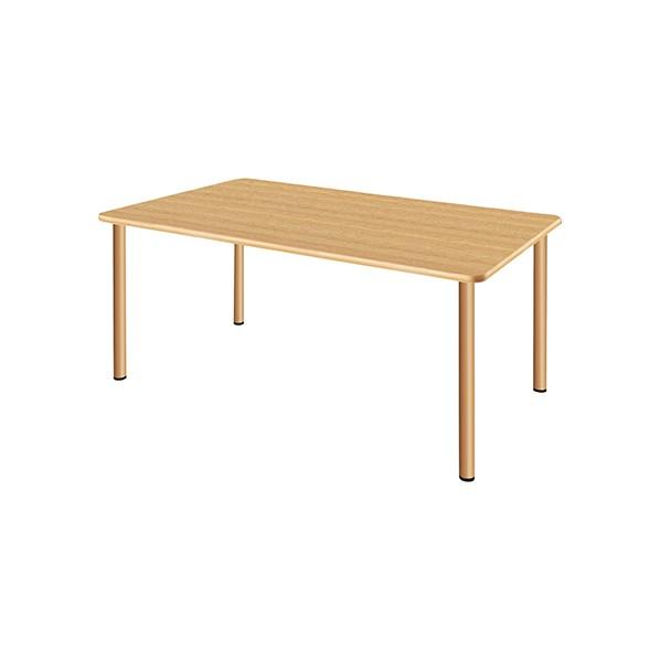 タック販売 施設向テーブル ナチュラルオーク ガーデンテーブル・チェア UFT-4S1690-NK 1台