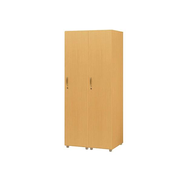 タック販売 木製ロッカー(連結) ガーデンテーブル・チェア ナチュラル FJLS-NA 1台