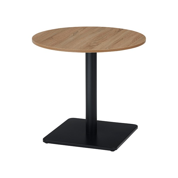 タック販売 RGカフェテーブル(丸) Kナチュラル ガーデンテーブル・チェア RGT7575R-KKA 1台