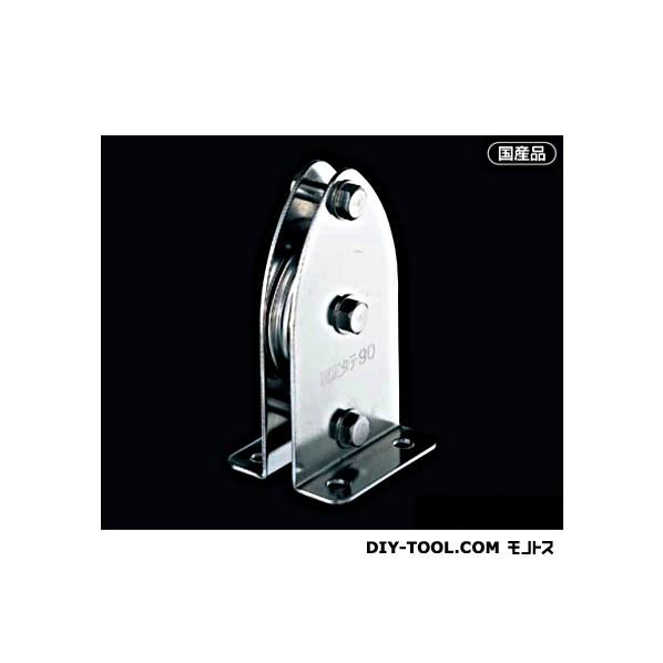 AIOULE 固定ブロック タテ型1車90mm 使用ロープ径:~10mm K90-1 1個