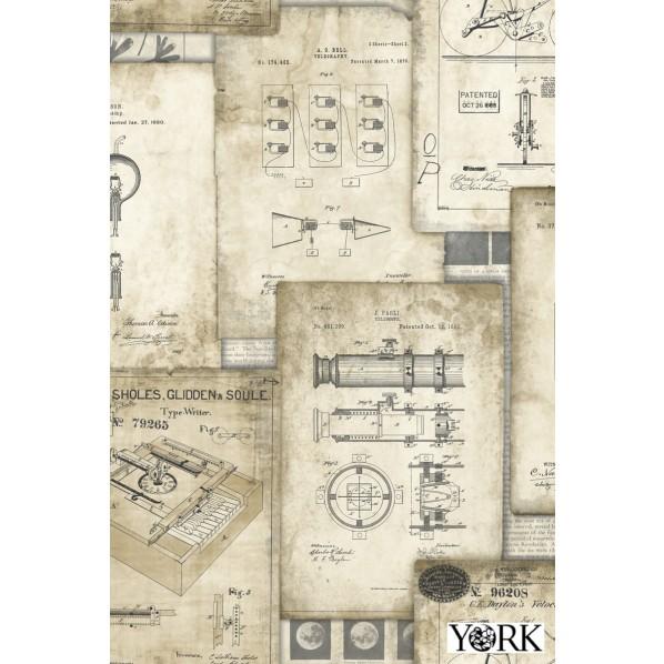 York ESPOIR NEW AGE 壁紙 HO3336 1本