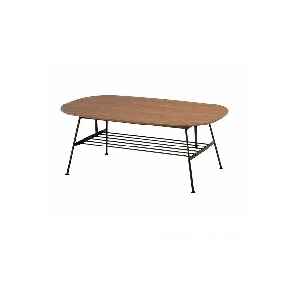 市場 アンセムアジャスタブルテーブル ブラウン W1100 x D500 x H400 ANT-2734BR 1台