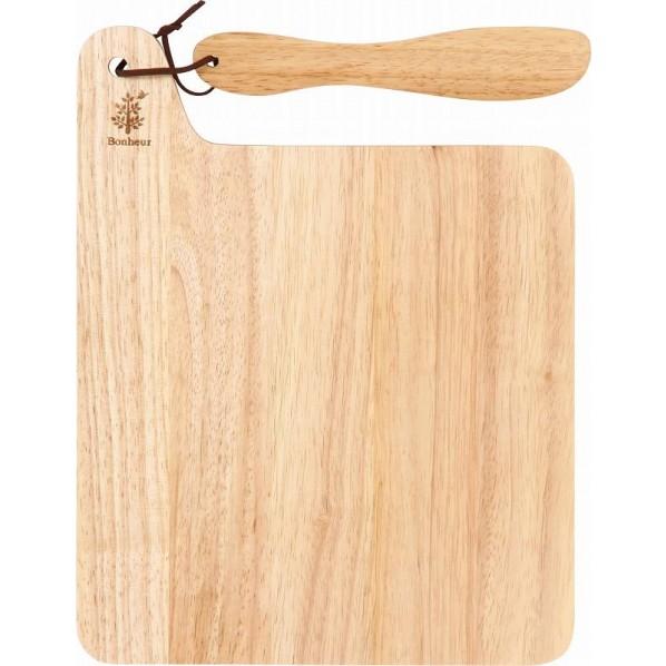 フジボウエキ 木製カッティングボード ボヌール C ナチュラル #REF! 72012 SS0.00750 6個