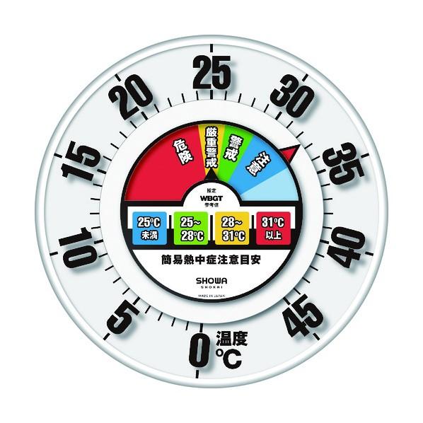 SHOWA SHOWA 防雨型30cm温度計 350×350×450MM N18-06 1個