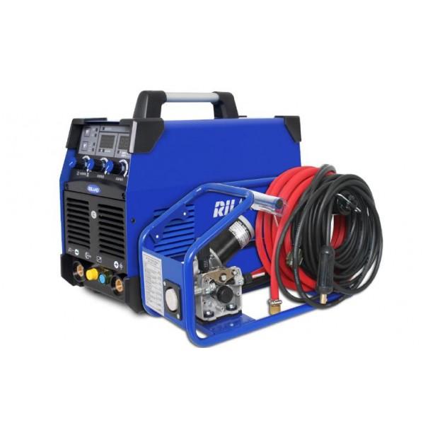 RILAND JAPAN インバーター半自動溶接機 ブルー&ブラック (本体サイズ)W245×H478×D468mm MIG251GF 1セット