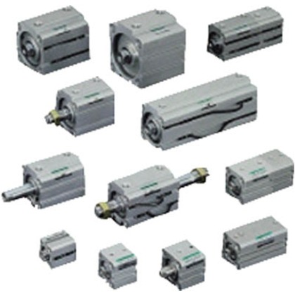 CKD コンパクトシリンダ高荷重形スイッチ付 SSD-KL-100-40
