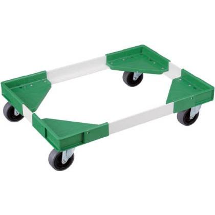 リス アングルキャリーLCB-75用エラストマー車(コーナー緑、アングル白) ACL-CB75-E-G.W