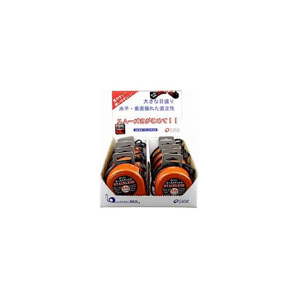 ヤマヨ測定機 オールステンレス5.5m ケース色:パールオレンジ STN-22L 1箱
