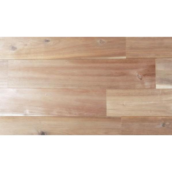 アカシア UNI 無塗装 7枚入り/1.53平方メートル 1820×120×15mm/1枚 マルトク flooring051202 節有 7枚