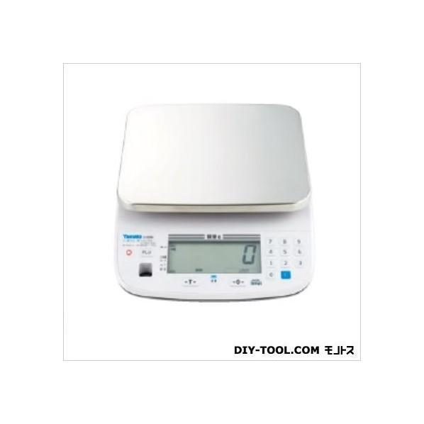 大和製衡 防水型デジタル上皿はかりJustNAVI/検定品/使用地区指定あり W242XD297XH117mm J-100W-6 1台