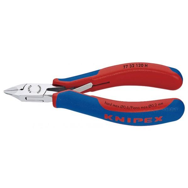 クニペックス KNIPEX7732-120H超硬刃エレクトロニクスニッパー 7732-120H