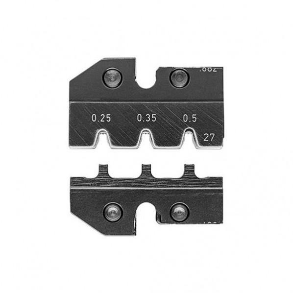 KNIPEX KNIPEX 9749-59 圧着ダイス(9754-27用) 90 x 69 x 33 mm 1個