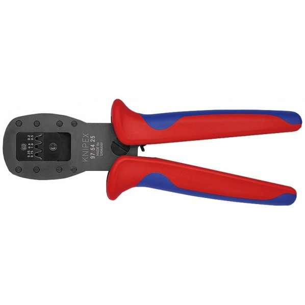 KNIPEX KNIPEX 9754-25 Micro-Fit(TM)用平行圧着ペンチ 222 x 80 x 44 mm 1丁
