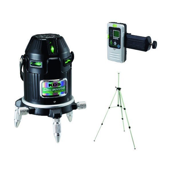 KDS オートラインレーザー900RG受光器三脚付 760 x 320 x 455 mm DSL-900RGRSA