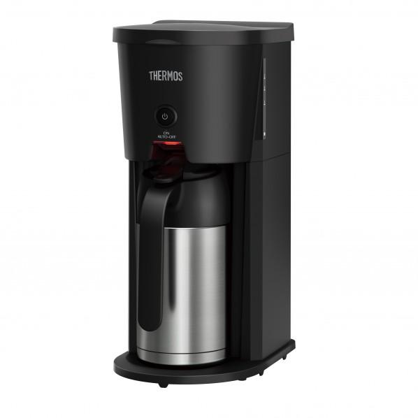 サーモス 真空断熱ポット コーヒーメーカー ブラック(BK) 幅15.5×奥行24.5×高さ36cm ECJ-700 1個