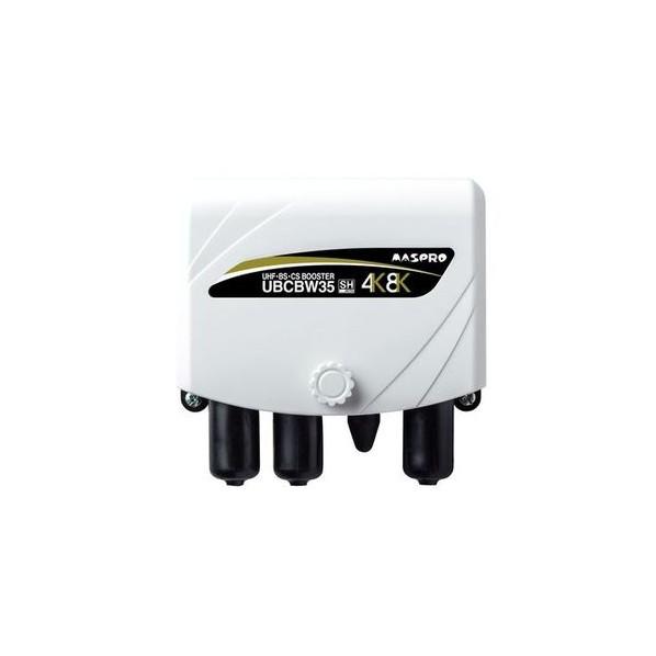 マスプロ電工 UHF+BSブースタ(家庭用) 電材パーツ 1個
