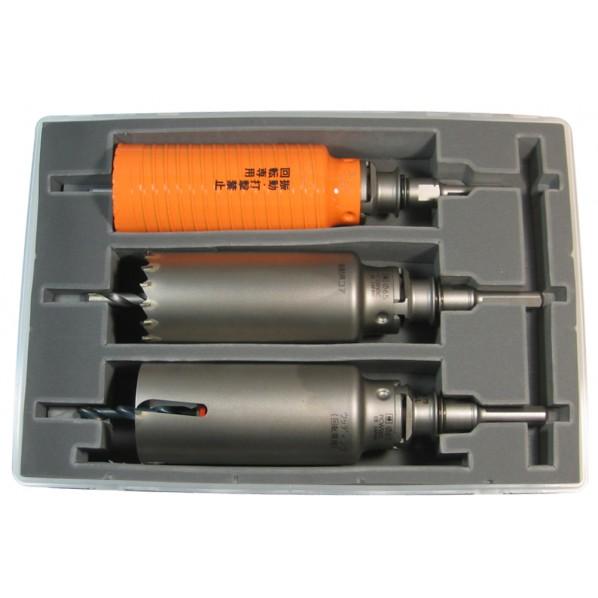 ミヤナガ ポリクリック コア3兄弟BOXキット φ70mm (SDSシャンク) PE1-70R 1セット
