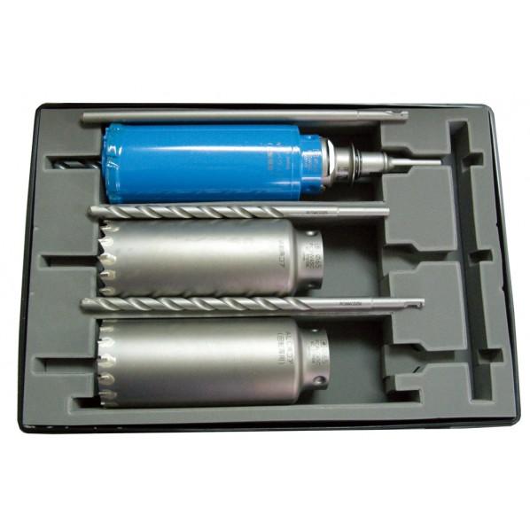 ミヤナガ ポリクリック コア3兄弟BOXキット φ75mm (SDSシャンク) PG2-75R 1セット