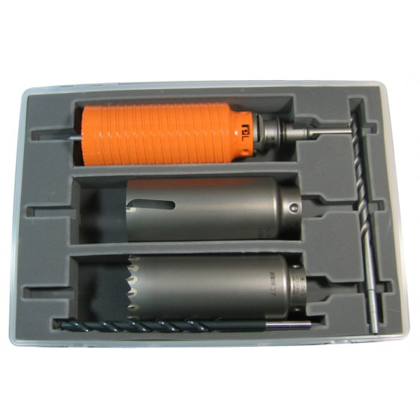 ミヤナガ ポリクリック コア3兄弟BOXキット φ80mm (SDSシャンク) PE2-80R 1セット