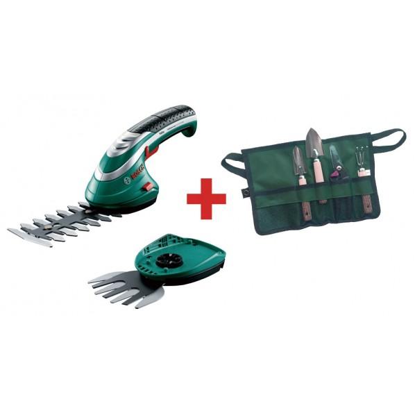 ボッシュ ISIO2ガーデンミニツールセット 電動芝刈り機 ISIO2J4 1台