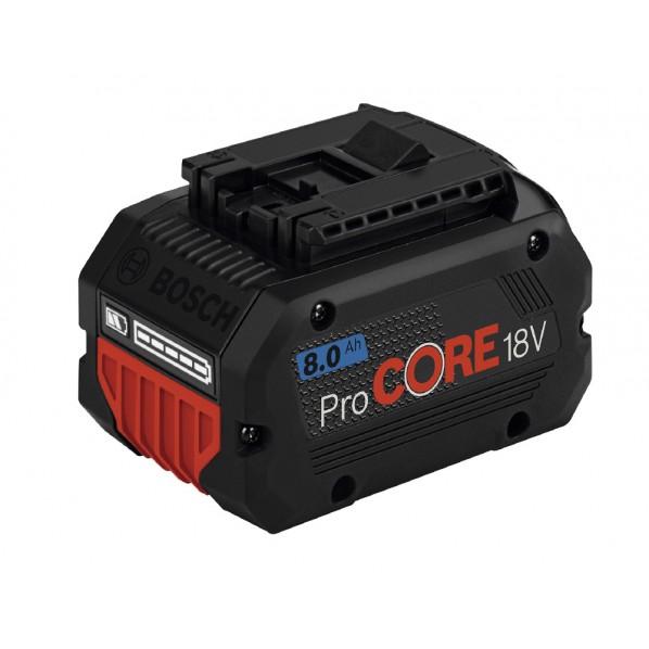 ボッシュ LiーIonバッテリー W117xD69xH77mm PROCORE18V8.0 1個