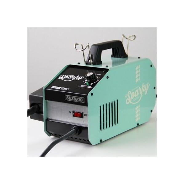 DIY FACTORY Sparky(スパーキー) 溶接機 ライトブルー SPK-80b スター電器 SUZUKID 初心者 家庭用 女性 diy SPK80o 1台