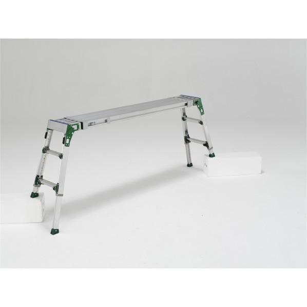 アルインコ 伸縮天板 伸縮脚付足場台 1個 超激得SALE VSR1709FX 即納