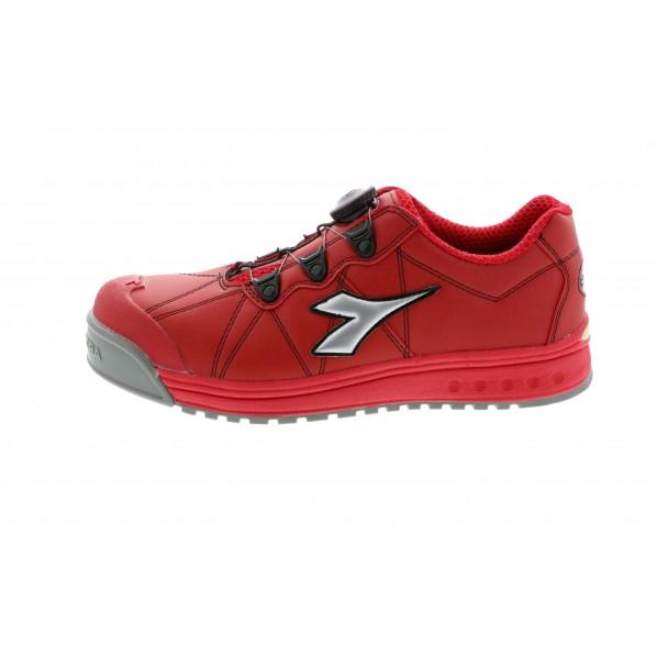 ディアドラ ディアドラ DIADORA安全作業靴 フィンチ 赤/銀/赤 24.5cm FC383-245 10