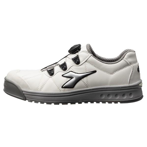 ディアドラ ディアドラ DIADORA安全作業靴 フィンチ 白/銀/白 29.0cm FC181-290 10
