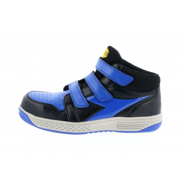 ディアドラ ディアドラ 安全作業靴 スターリング ブラック/ブルー 23.0cm 285 x 225 x 110 mm 1個