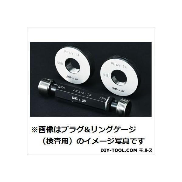 測範社 管用平行ネジリングゲージ(PF3/4-14 GRBWRB 3/4 1個