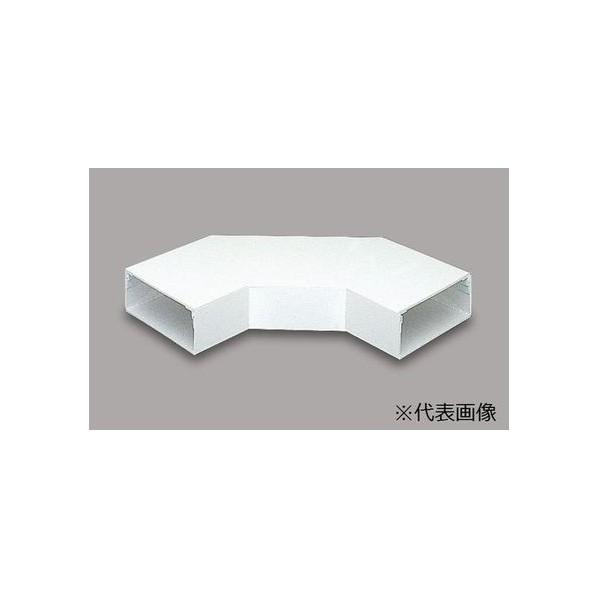 マサル工業 平面大マガリ 2510 ミルキーホワイト W250.0mm×H100.0mm×L550.0mmt:4.0mm LDM2223 1個