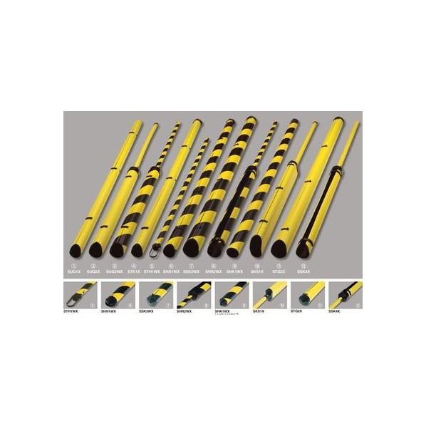 マサル工業 PE支線ガード トラ 長さ:2024mm SHR1WX-10P 10個