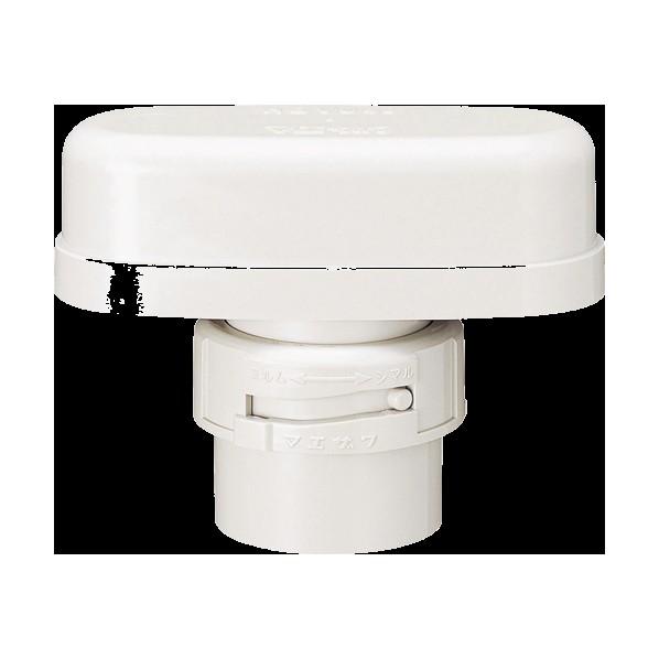 マエザワカセイ 排水継手 スリム吸気弁セット HBVU40セット 1個
