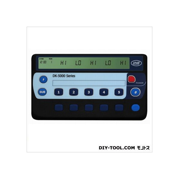 ライン精機 品質検査済 贈物 10連式電子数取器 1台 DK-5010D