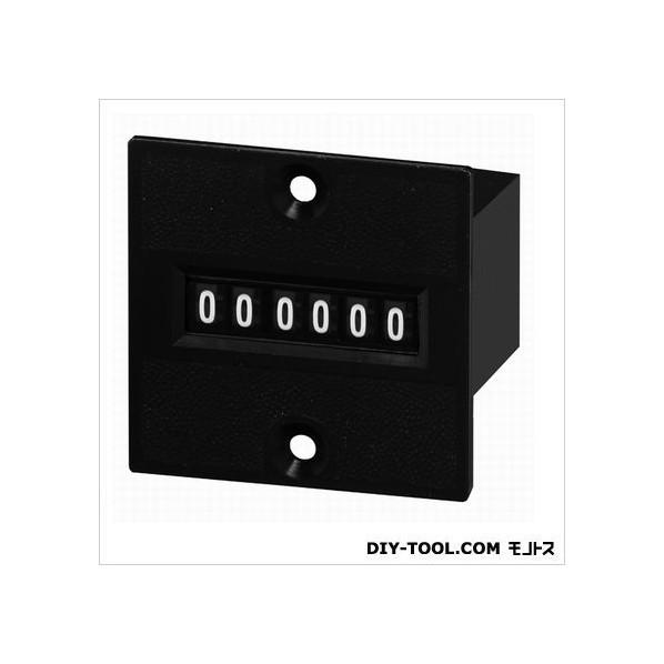 ライン精機 電磁カウンタ/リセットナシ MCU-6P-DC24 1台