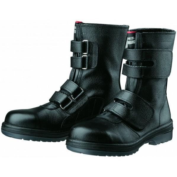 ドンケル ラバー2層底安全靴(マジック式)耐滑 ブラック 30.0cm R2-54 1足