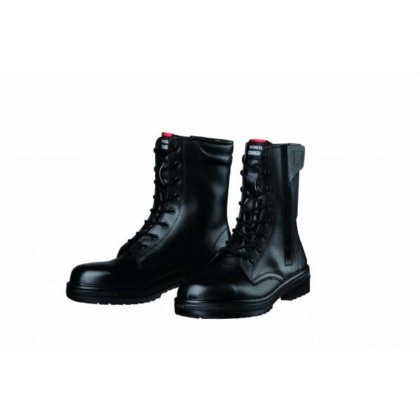 ドンケル ラバー2層底安全靴(長編上ブーツ)耐滑 JIS T8101革製S種E・F合格 ブラック 30.0cm R2-04T 1足