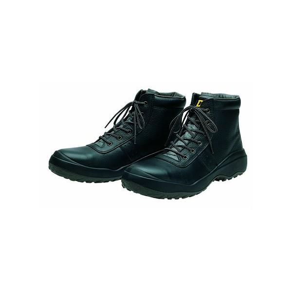 ドンケル ダイナスティコンフォート安全靴(ヒモ)発泡ポリウレタン2層底 耐滑 ミドルカット ブラック 28.0cm DC-803 1足