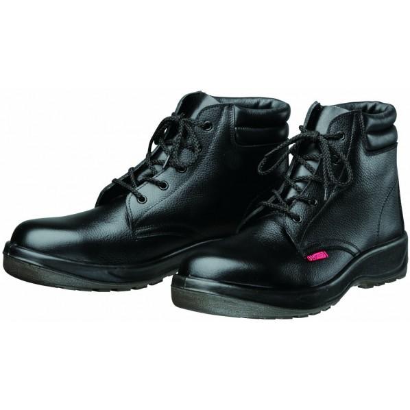 ドンケル ダイナスティPU2 安全靴(ミドルカット)PU二層底 耐滑 衝撃吸収 ブラック 29.0cm D7003 1足