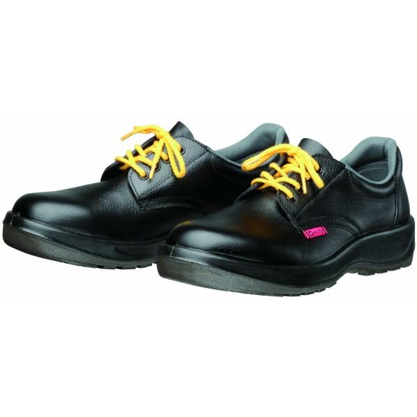 ドンケル ダイナスティ SD 静電安全靴(ヒモ)PU二層底 耐滑 衝撃吸収 ブラック 29.0cm D7001 静電 1足