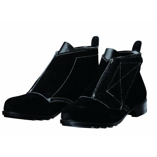 ドンケル マジック式耐熱・熔接用安全靴 ベロア ブラック 29.0cm T-2 1足