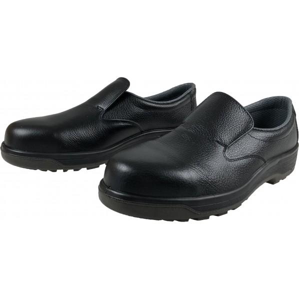 ドンケル 安全靴 スリポン PU二層底 耐滑 衝撃吸収 ブラック 30.0cm 731 1足