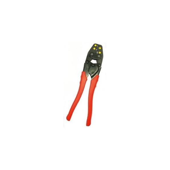 エビ 絶縁被覆付閉端接続子用圧着工具使用範囲CE1・2・5・8 319 x 105 x 24 mm AK28A 1個