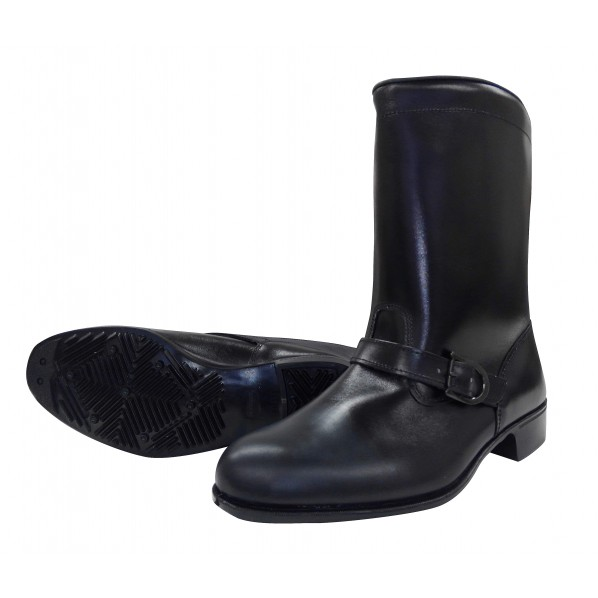 ミドリ安全 ドンケル 作業靴306 バンド付キ半長靴 24.0 EEE 1個