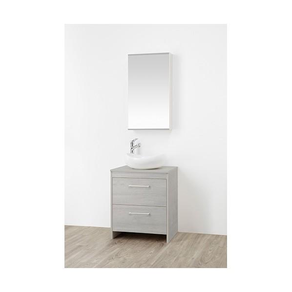 SANEI 洗面化粧台 木目グレー WF015S2-600-PG-T1 1台